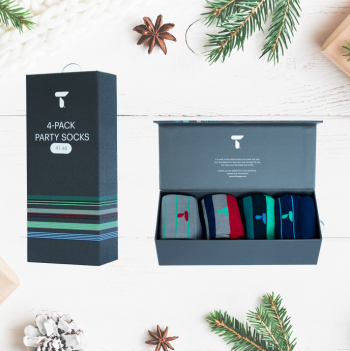 PARTY SOCKS: UNISEX (Cityskape sock, Stripes sock and Block socks) 41-46