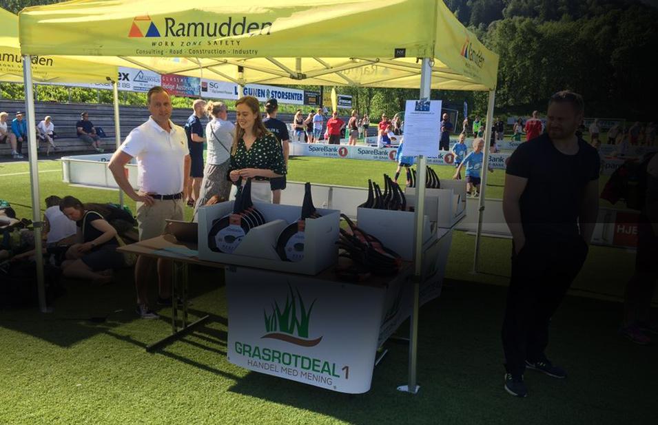 Grasrotdeal1.no på Ramudden Cup 2018